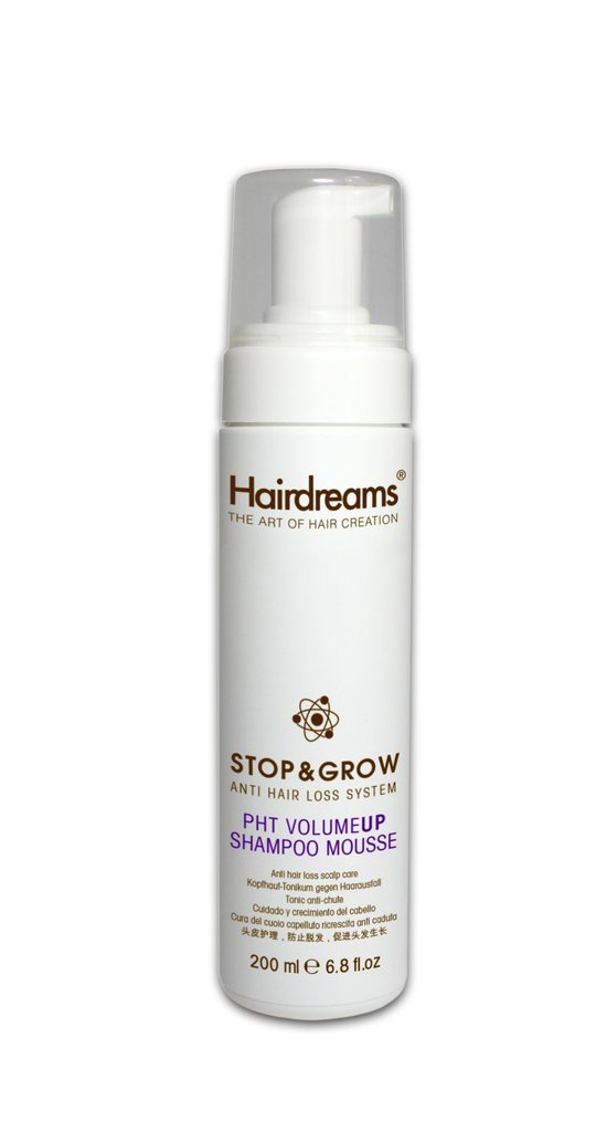 Hairdreams Stop&Grow | Stop and Grow PHT VolumeUP Shampoo Mousse | 200ml