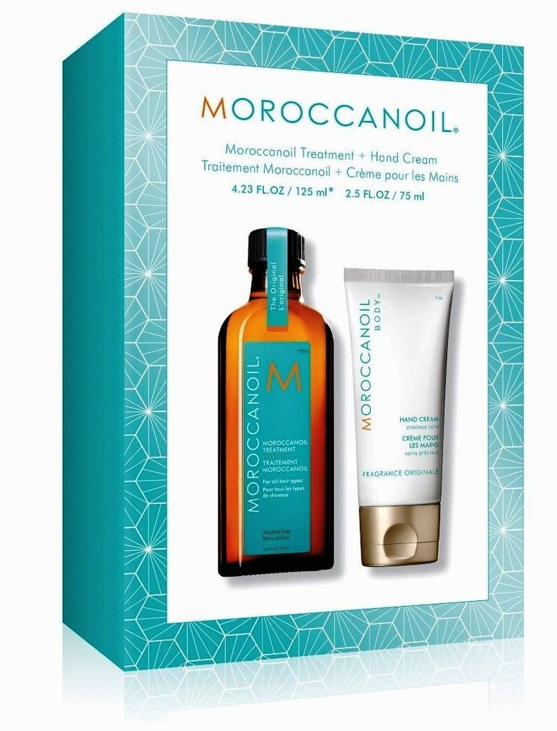 Moroccanoil | DUO Set | Arganöl Treatment SONDERGRÖßE 125ml + Handcreme 75ml GRATIS