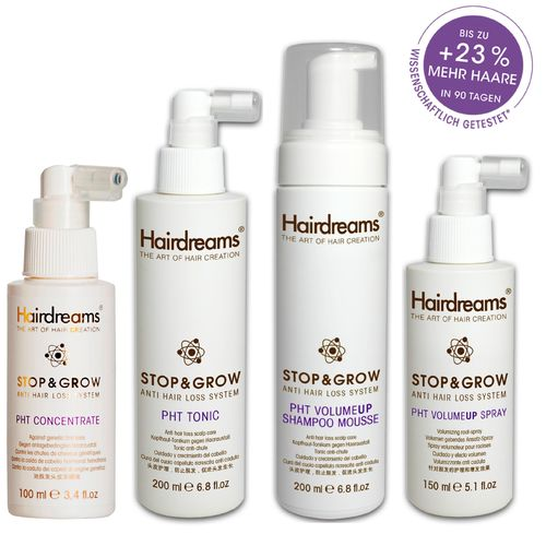Hairdreams Stop&Grow | PHT Kopfhaut 4-tlg.KIT |
